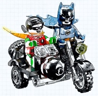 Turbo Tidy Batman & Robin
